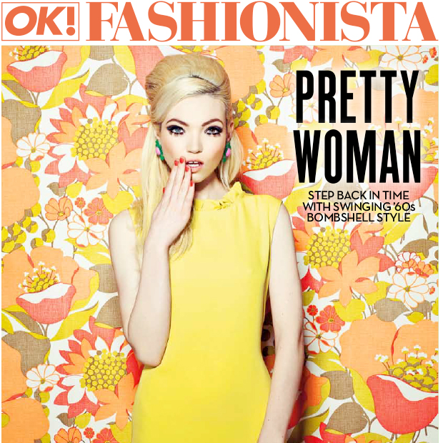 Dirty Looks Hair Extensions in OK! Magazine