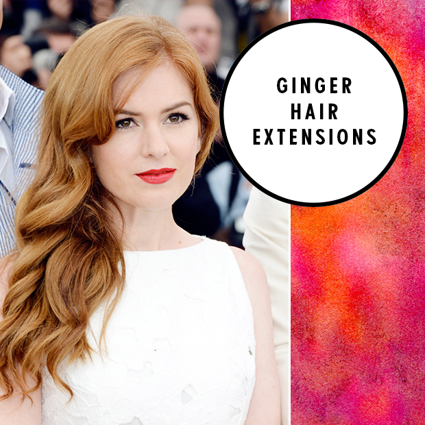 Ginger hair extensions hair extensions blog hair tutorials ginger hair extensions pmusecretfo Gallery