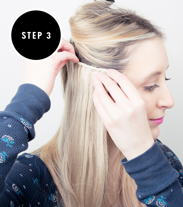 How To Apply Clip In Hair Extensions Hair Extensions Blog Hair