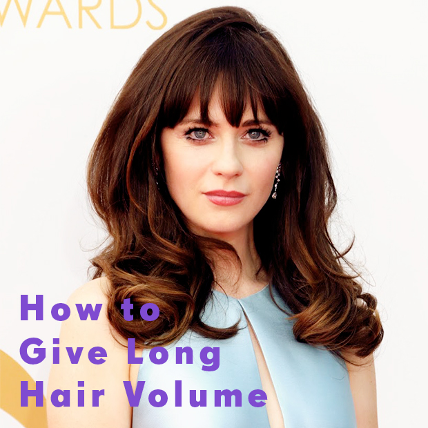 How to Give Long Hair Volume