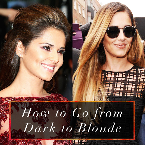 How To Go From Dark To Blonde Hair Extensions Blog Hair