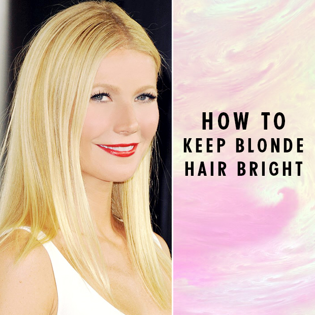How to Keep Blonde Hair Bright