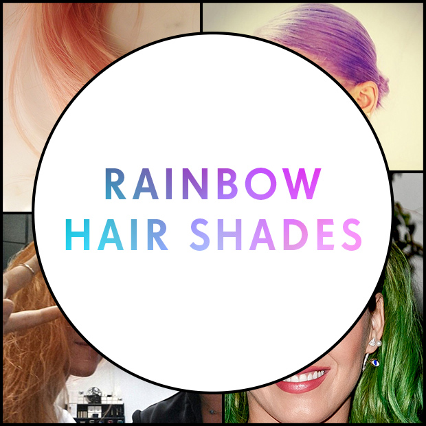 Rainbow Hair Shades
