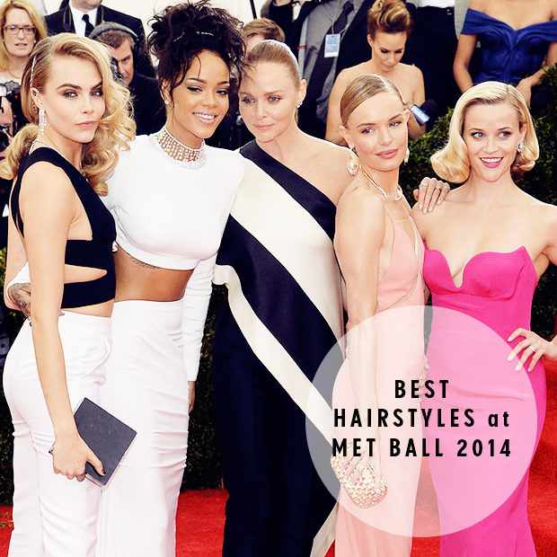 Best Hairstyles from the Met Ball 2014