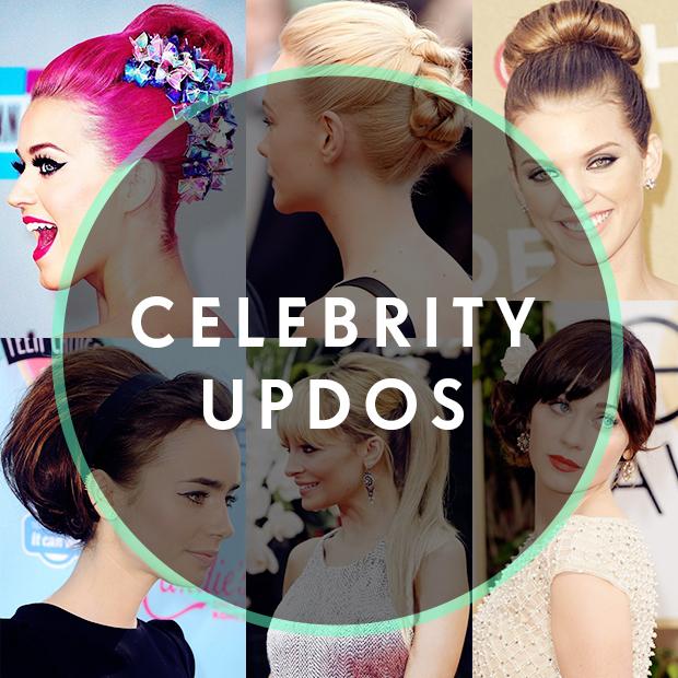 Celebrity Updos