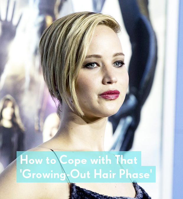 How to Cope with that growing-out hair phase