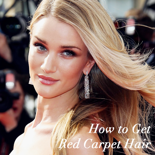 how to get red carpet hair