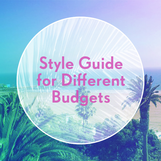 Style Guide for Different Budgets
