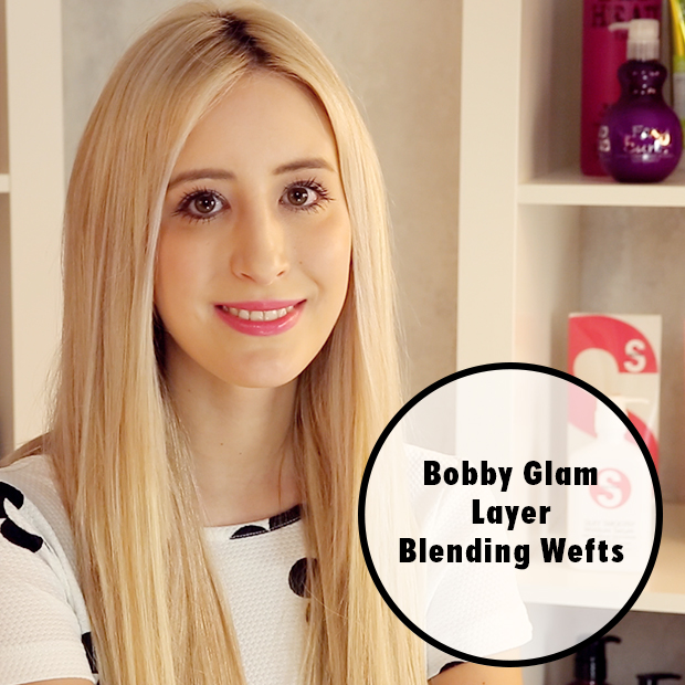 How to Use Bobby Glam Layer Blending Wefts
