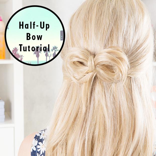 Half-Up Hair Bow Tutorial