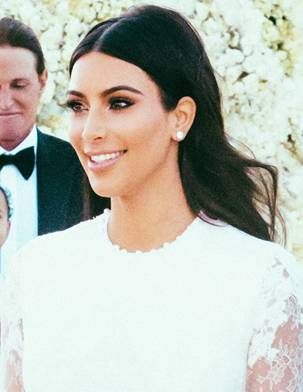 How To Get Kim Kardashians Wedding Hair