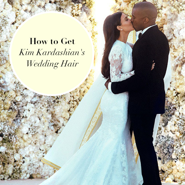 How To Get Kim Kardashian S Wedding Hair Hair Extensions