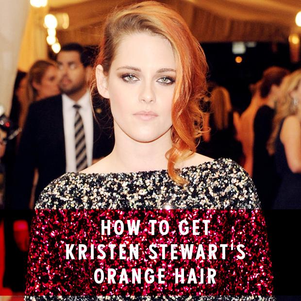 How to get Kristen Stewart's orange hair