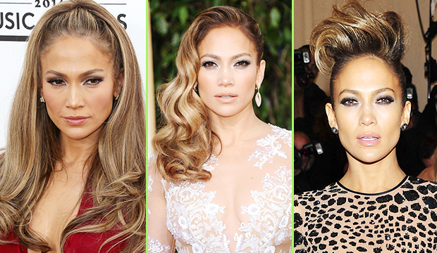 Jennifer Lopez's hair