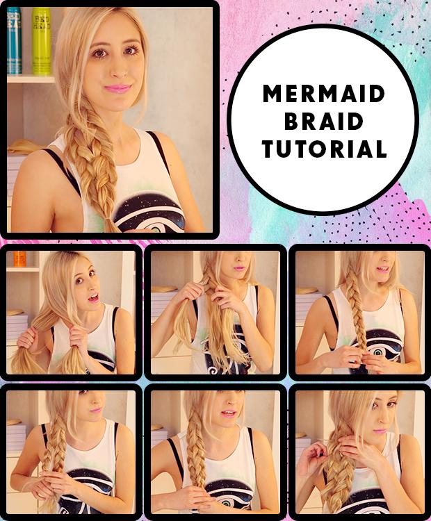 Mermaid Braid Hair Tutorial / Hair Extensions Blog | Hair ...