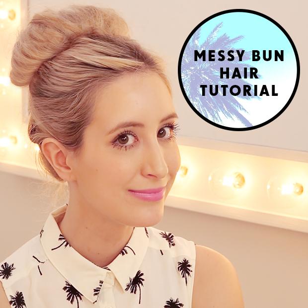 Messy Bun Hair Tutorial