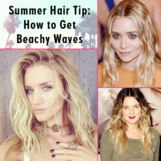 Summer Hair Tip: How to Get Beachy Waves
