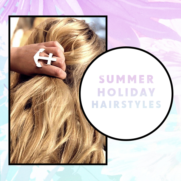 Summer Holiday Hairstyles Hair Extensions Blog Hair Tutorials