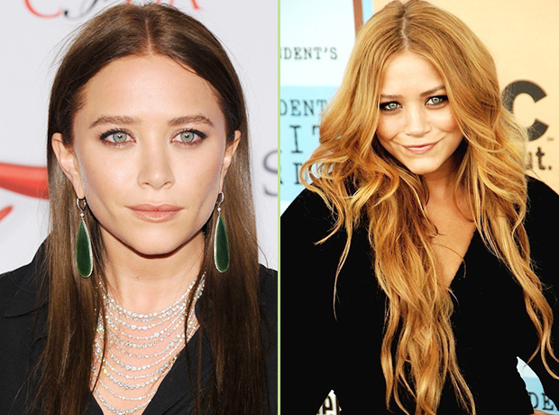 The Olsen Twins' Hair