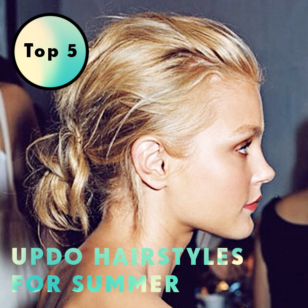 Top 5 Updo Hairstyles For Summer Hair Extensions Blog Hair