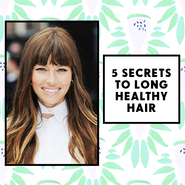 5 Secrets to Long Healthy Hair