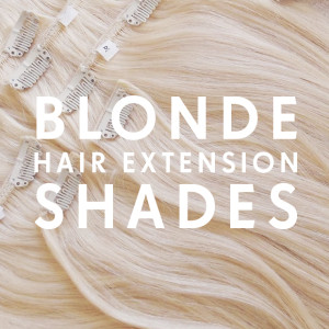 Blonde Hair Extension Shades