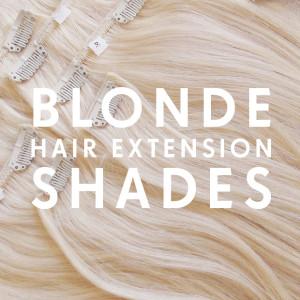 Blonde Hair Extension Shades