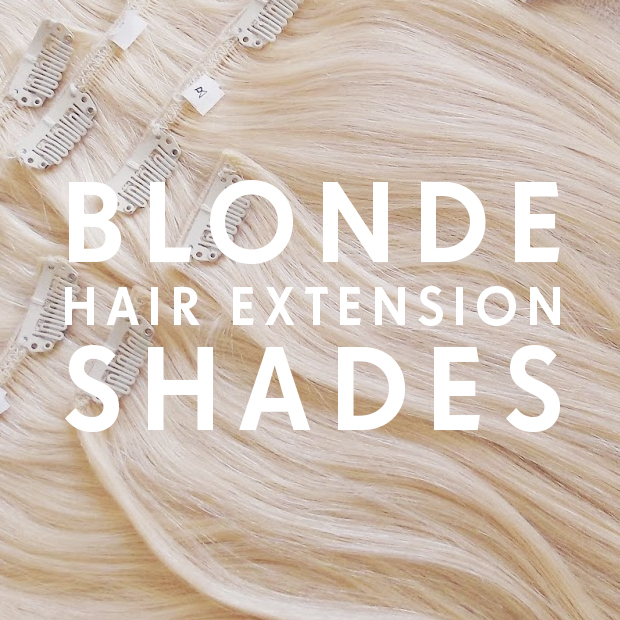 Blonde hair extension shades hair extensions blog hair blonde hair extensions pmusecretfo Gallery