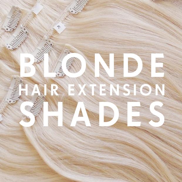 Blonde Hair Extension Shades Hair Extensions Blog Hair Tutorials