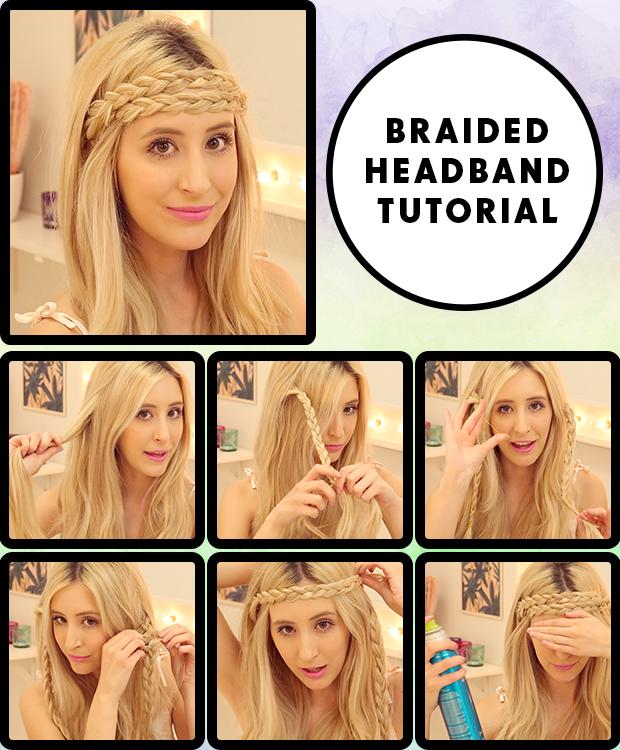 Fine Braided Headband Hair Tutorial Hair Extensions Blog Hair Short Hairstyles For Black Women Fulllsitofus