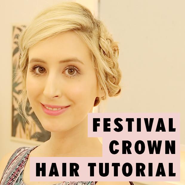 Festival Crown Hair Tutorial