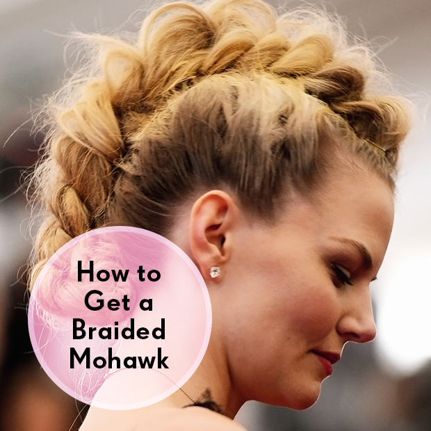 how to get a braided mohawk
