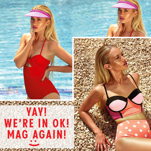 Dirty Looks Hair Extensions in OK! Magazine...Again!