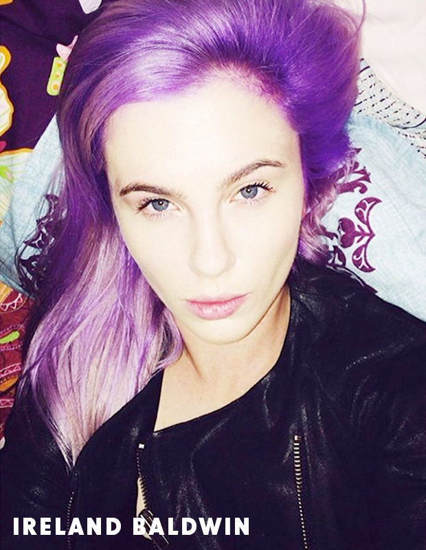 Top 5 Celebrities With Purple Hair Hair Extensions Blog