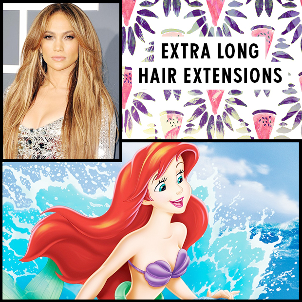 Extra Long Hair Extensions