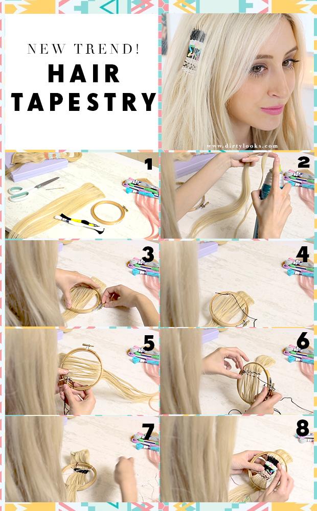 Hair Tapestry Tutorial
