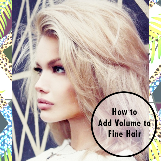 How To Add Volume To Fine Hair Hair Extensions Blog Hair