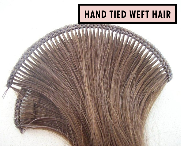 What Is A Hair Extension Weft Hair Extensions Blog