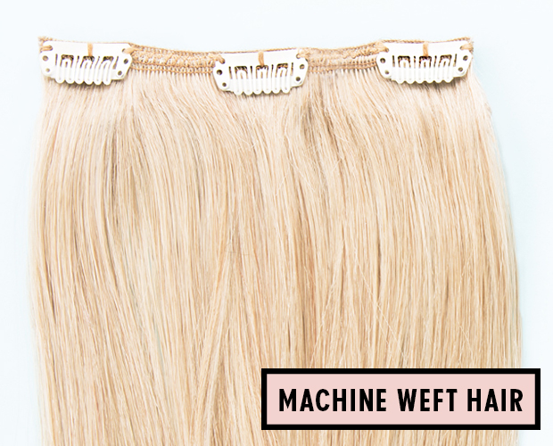 What Is A Hair Extension Weft Hair Extensions Blog Hair