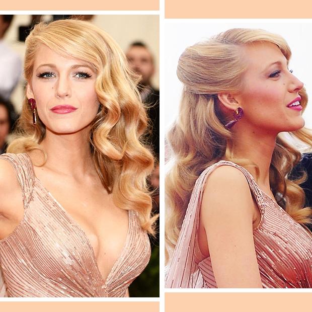 Blake Lively Hollywood Waves Hair Tutorial Hair Extensions Blog