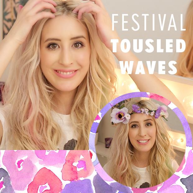 Tousled Festival Hair Tutorial
