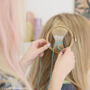 Hair Tapestry Tutorial