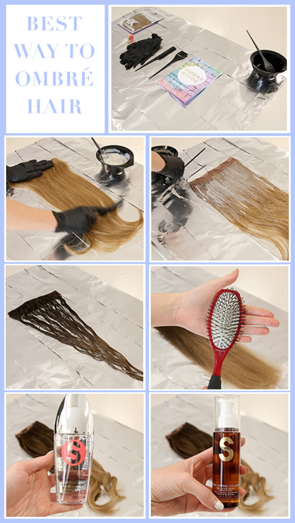 Best Way To Ombre Hair Extensions Hair Extensions Blog Hair