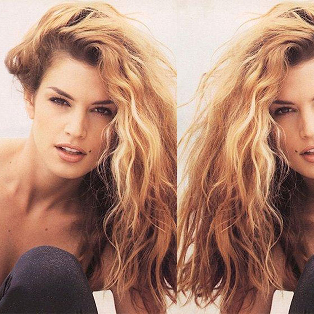 how to achieve 90s hair