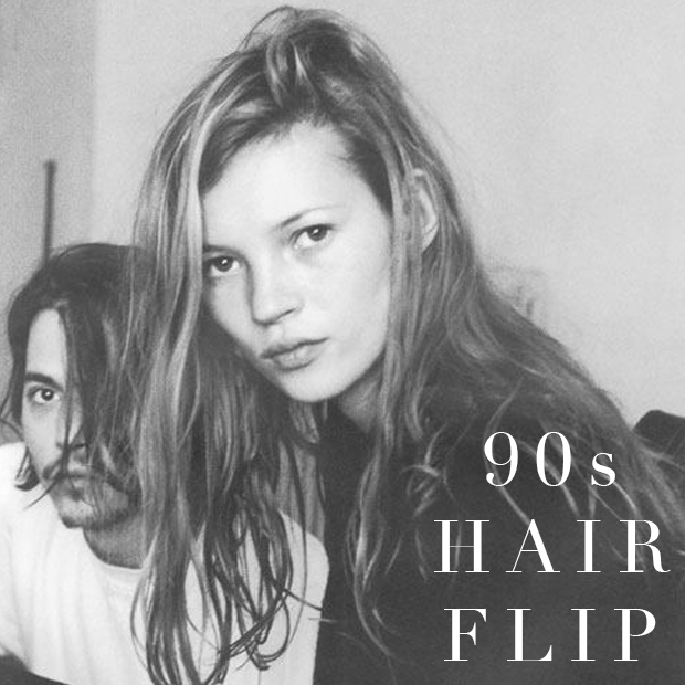 The 90's Hair Flip