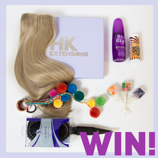 COMPETITION TIME! WIN HK HAIR EXTENSIONS, PLUS MORE!