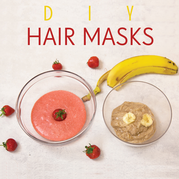 DIY Hair Masks for Moisturised, Shiny Hair