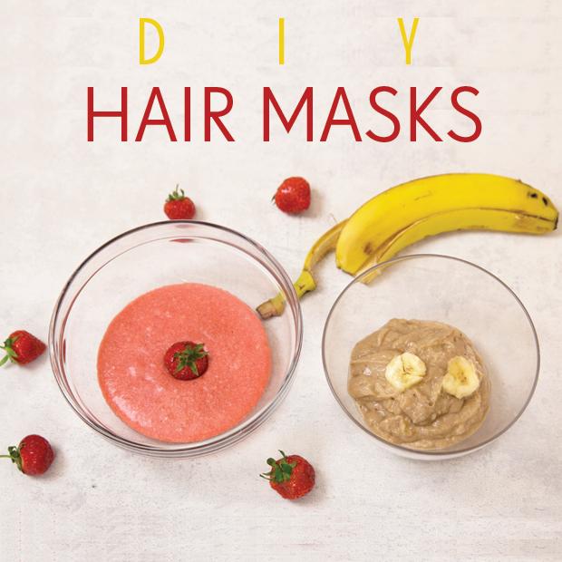 DIY Hair Masks for Moisturised, Shiny Hair