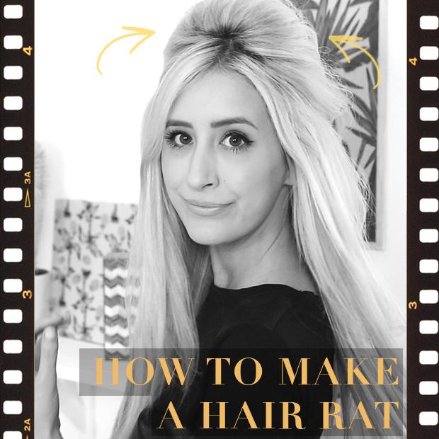 How To Make A Hair Rat Volumizer Hair Extensions Blog Hair