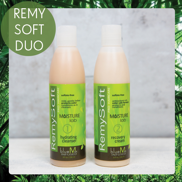 RemySoft Moisture Lab Hydrating Cleanser and Recovery Cream.